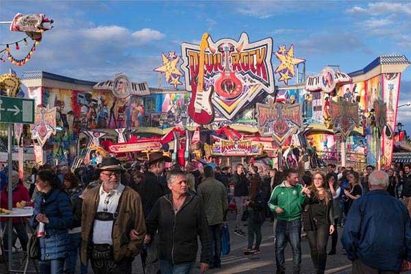 Southwest Germany The Bad Dürkheim Wurstmarkt (Wine Festival)