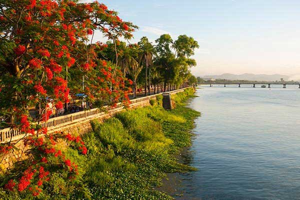 Take an Evening Stroll Along the Banks of the Perfume River