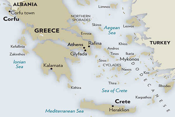 The-Athens-Riviera-Map