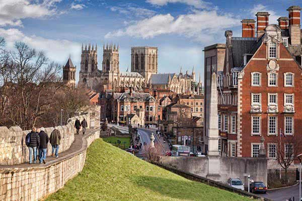 The City Walls in York