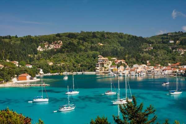 Paxi Ionian Island