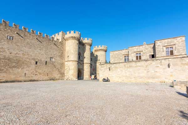 Stroll Up the Street of Knights to the Palace of the Grand Masters