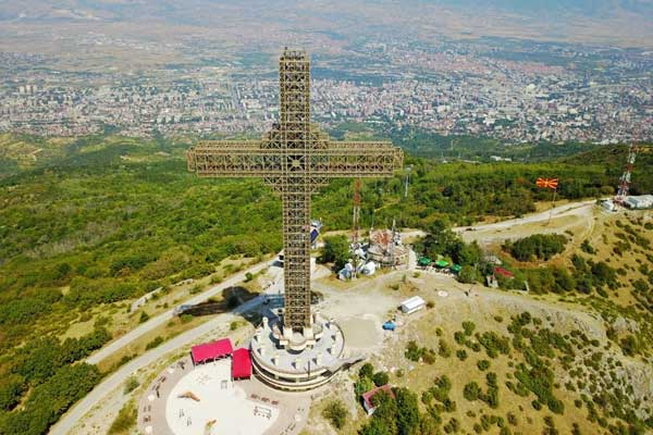 Take a Cable Car to the Millennium Cross