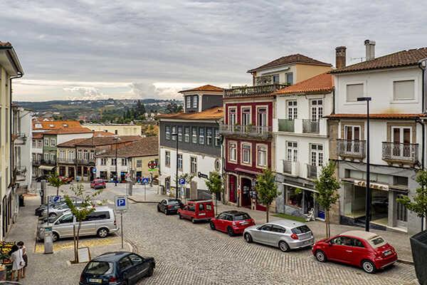 public square vila real portugal