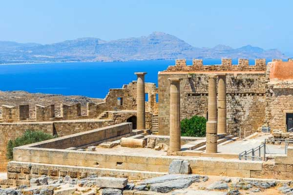 Visit the Lindos Acropolis and the Acropolis of Rhodes