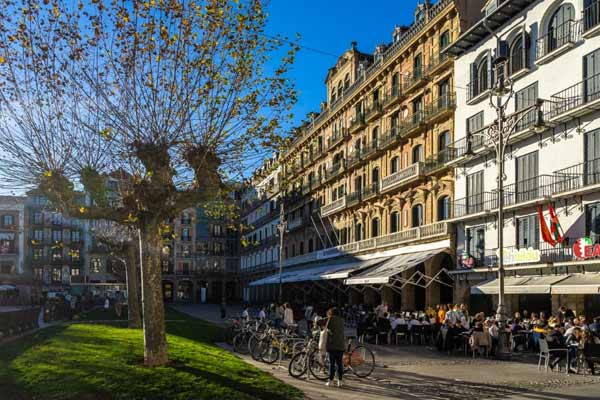 The Picturesque Old Quarter of Pamplona